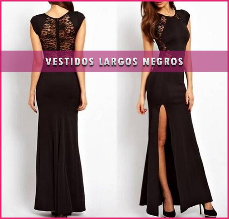 Vestidos largos negros