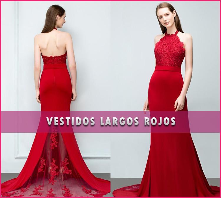 Vestidos largos rojos