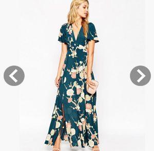 Vestidos largos florales